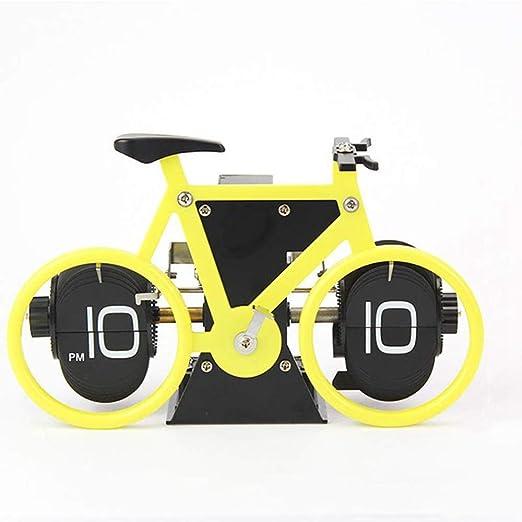 TTbaoz Página automática Que Gira la Bicicleta Que Gira el Reloj ...