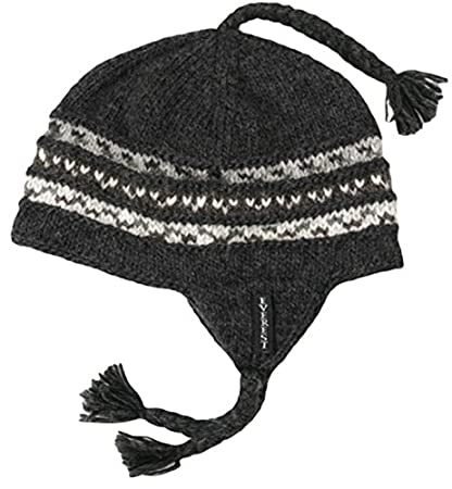 Everest Designs Boys 15402 Braided Earflap Hat Black One Size everest-designs 15402-K