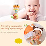 Cloth Rattles Shaker Soft Baby Musical