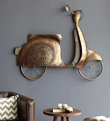 Buy Karigaari India Bronze Iron Scooty Hanging Wall Decor Best For