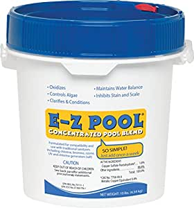 Amazon Com E Z Pool All In One Pool Care Solution 10