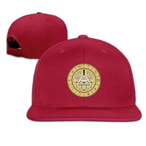 Bill Adjustable Cipher Gravity Red Cap One Snapback C1891 Baseball Falls Unisex Size 4qEIf