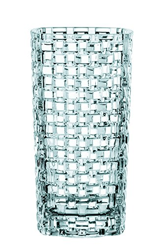 "Nachtmann Dancing Stars Bossa Nova 11-Inch Crystal Vase - Dancing Stars Bossa Nova 11-Inch Lead Crystal Vase Fine Crystal. 11"" tall x 6-1/2"" wide. Delicate crystal with a contemporary design make these perfect for any occasion - vases, kitchen-dining-room-decor, kitchen-dining-room - 51d7ATgJfcL -"