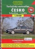 Czech Republic 1:100,000 Touring Atlas, spiral-bound, GPS-compatible