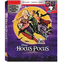 blu ray Hocus Pocus: 25th Anniversary Limited Edition (Blu-Ray + Digital) with 40-page Gallery Book