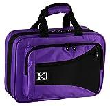Kaces KBFP-CL3 Lightweight Hard-shell Clarinet Case, Purple