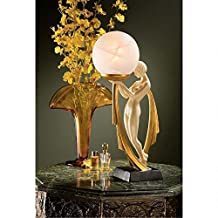 Design Toscano PD00328 The Desiree Art Deco Lighted Sculpture