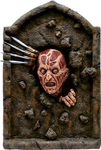 [Nightmare on Elm Street Freddy Krueger Tombstone Party Decoration] (Halloween Props)