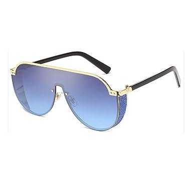 Yying Fashion Lentes Irregulares Gafas de Sol Espejadas de ...