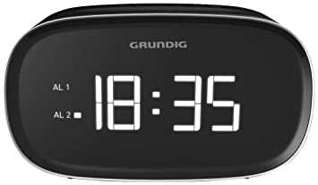 Grundig Sonoclock 3000 Reloj Digital Negro - Radio (Reloj, Digital, Am,FM