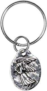 product image for Danforth - Angel Keyring - Guardian Angel - Pewter - Key Fob - Handcrafted - Made in USA