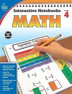 Math, Grade 5 (Interactive Notebooks): Carson-Dellosa Publishing ...