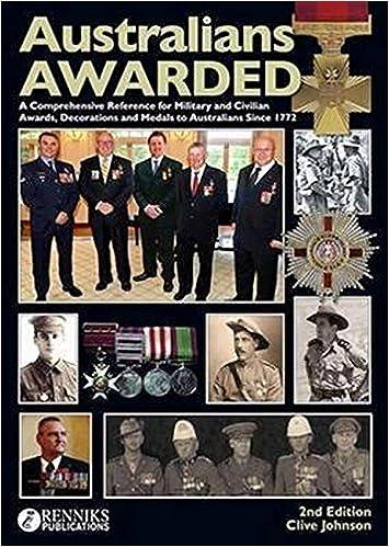 Amazon.com: Australians Awarded 2nd Edition (9780987338631): Johnson,  Clive: Books