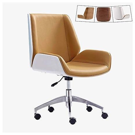 Groovy Amazon Com Zhen Guo Mid Century Modern Office Desk Chair Squirreltailoven Fun Painted Chair Ideas Images Squirreltailovenorg