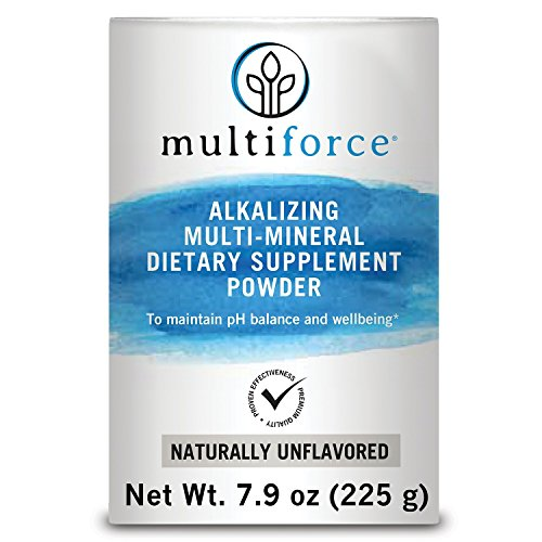 Multiforce Alkalizing Multimineral Continuation for Healthy pH Balance and Reduced Acidity