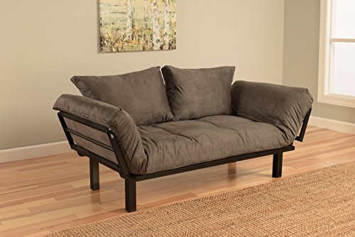 Futon Mattress Replacement Cover for Small Lounging Futon - COVER ONLY from Spacely
