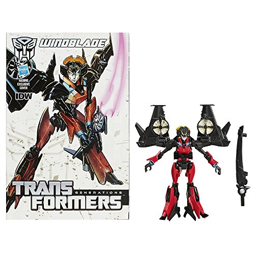 Transformers Generations Deluxe Class Windblade Figure (Transformers Toy Links Wings)