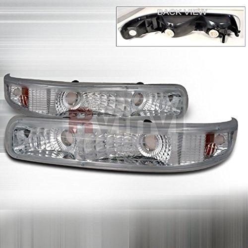 - Euro Clear Bumper Light Made For 99-02 1999 2000 2001 2002 Chevrolet Chevy Silverado