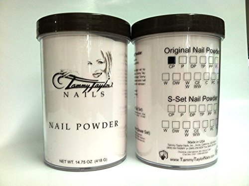 Tammy Taylor Nail Powder Clear Pink 14.75 Oz by Tammy Taylor