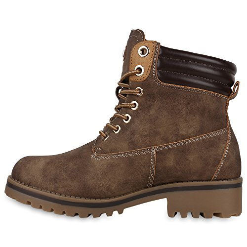 Brown Stiefelparadies Stiefelparadies Stivali Stivali Donna wZxY0xq
