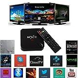 Bros Unite MX3 MXIII Amlogic S812 Android TV Box Quad Core with 2G 8G 2.4/5GHz Dual Wifi Bluetooth 4.0 HDMI DLNA Kodi Fully Loaded HDMI 2.0 Full HD Iptv Blue-ray Miracast Playback Google Streaming Media Players