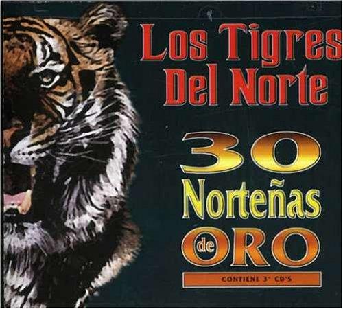 30 Nortenas Del Oro [3 CD Box Set]