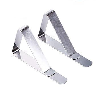 TIANOR 12PACK 45mm Pinzas para Mantel Clips de Paño Cubierta Protectora Terminales para Boda Pisapapeles Meiso Pinza Mantel Sujeta Manteles Soportes ...