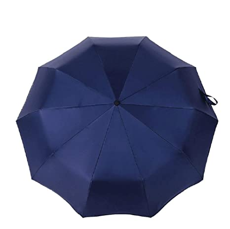 Zhrui El hombre del paraguas plegable Resistente UV portátil Lluvia Paraguas mujeres paraguas grande Sombrilla anti
