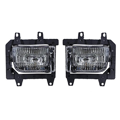 Childplaymate 1Pair Front Bumper Driving Fog Lights for BMW E30 318i 318is 325i 1985-1993