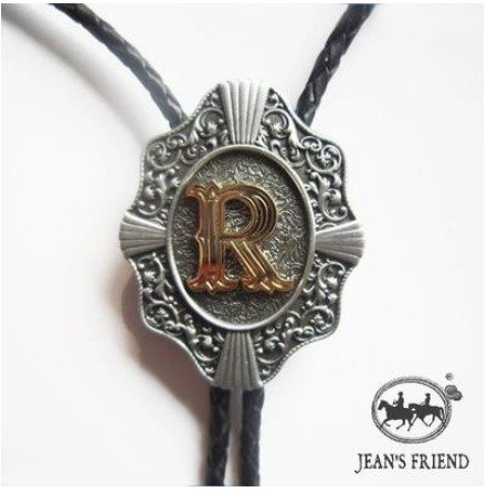 bolo tie bolotie new western rodeo cowboy red gold