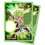 Dragon Ball Super: Standard Size Deck Protector Sleeves - Broly (65)