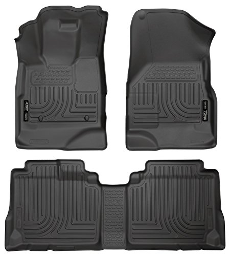 Husky Liners Front & 2nd Seat Floor Liners Fits 10-17 (Carpeted Floor Liners)