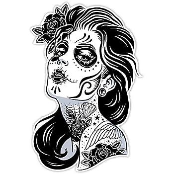 OSMdecals - Sugar Skull Sticker Version 1 - Day of the Dead Vinyl Wall