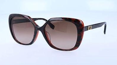 0f2e0a254180 Amazon.com  Fendi Sunglasses - 107 F   Frame  Havana Lens  Brown ...