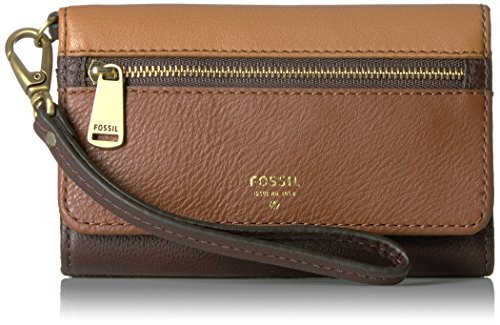Fossil Preston Phone Multifunction Wallet, Multi/Brown