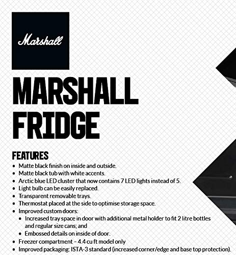 Marshall 4.4 nevera de bar de alta capacidad: Amazon.es: Grandes ...