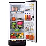 LG 235 L 4 Star Inverter Direct Cool Single Door Refrigerator (GL-D241APGY, Purple Glow, base stand with drawer )