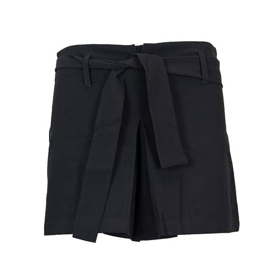 Kurze SchwarzBekleidung Please Hosen M G975g26 Damen UMpqSzV