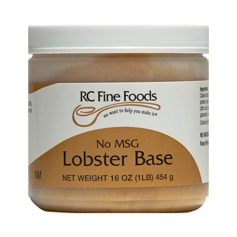RC Fine Foods Lobster Base 1 lb. Jar