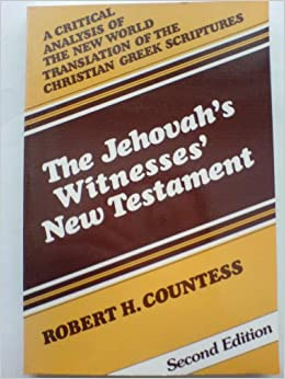 //TOP\\ Jehovah's Witnesses' New Testament: A Critical Analysis. coming Papel books Anterior Welcome