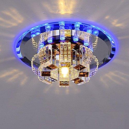 Modern Crystal LED Pendant Lamp Ceiling Light Fixture Lighting Chandelier Lights