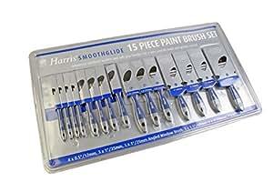 Harris 12191C - Juego de brochas para pintar 15 piezas