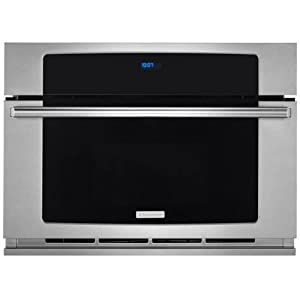 "Electrolux EW30SO60QS 30"" Built-In Convection Microwave Oven with 1.5 cu. ft. Oven Capacity Drop-Down Door Wave-Touch Controls Convection Cooking and Multi-Stage Cooking in Stainless"