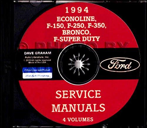 COMPLETE & UNABRIDGED 1994 FORD TRUCK, VAN & PICKUP FACTORY REPAIR SHOP (Factory Repair Manual)