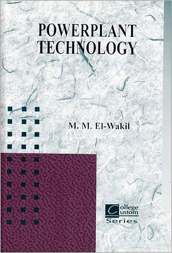 Powerplant Technology M M El Wakil 9780072871029 Amazon
