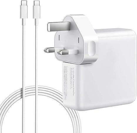 QINUKER Adaptador de corriente USB C compatible con cargador ...