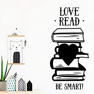 Wall Stickers, Wall Decals, Wall Paintings, Wall Tattoos, Wall Posters,Read Love Wall StickerChildren'S Room Decoration Removable Self Adhesive Vinyl Stickers Art Decals