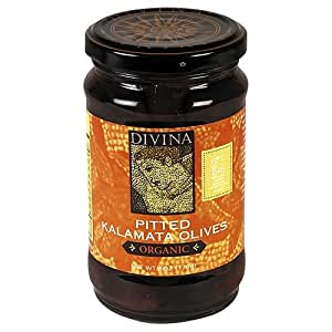 Organic Pitted Kalamata Olives by Divina (6 ounce)