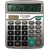 e-cholife 12-Digits Solar Battery Dual Two Way Power Large Display Standard Office Desktop Store School Calculators …