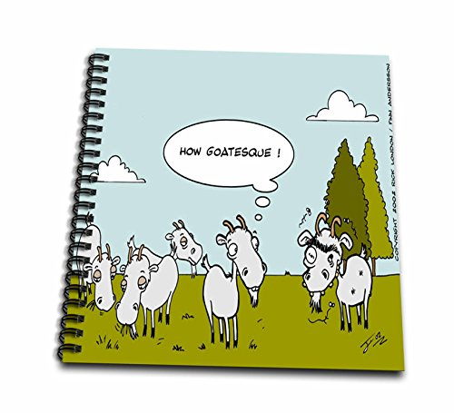 Londons Times Funny Animals Cartoons - Ugly Goat Gossip - Drawing Book 8 x 8 inch (Ugly Goat)